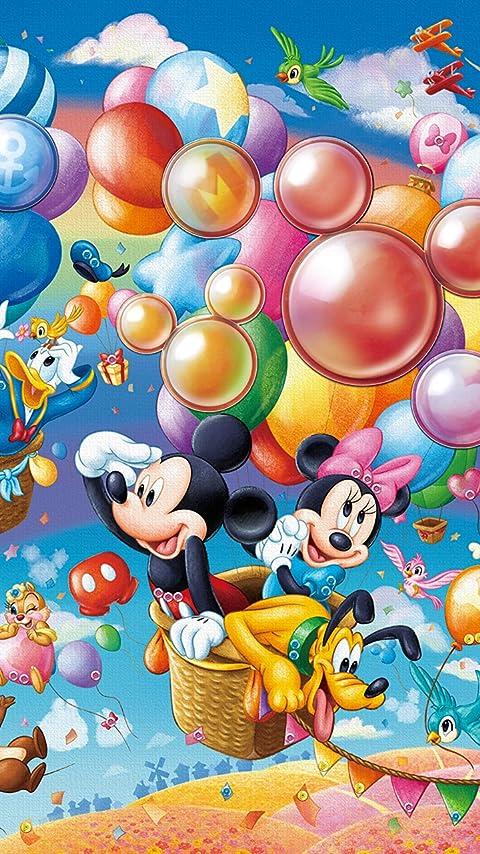 ディズニー Balloon Adventure (バルーン・アドベンチャー)  XFVGA(480×854)壁紙画像