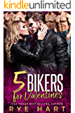 5 Bikers for Valentines: A Reverse Harem Romance (English Edition)