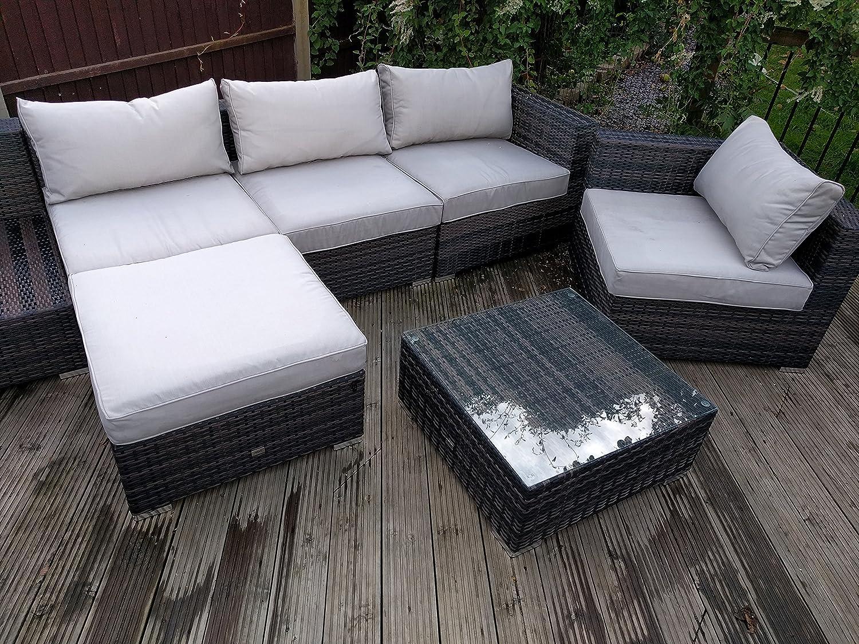 Funda para muebles de jardín elástica, diseño rectangular, 2 tamaños