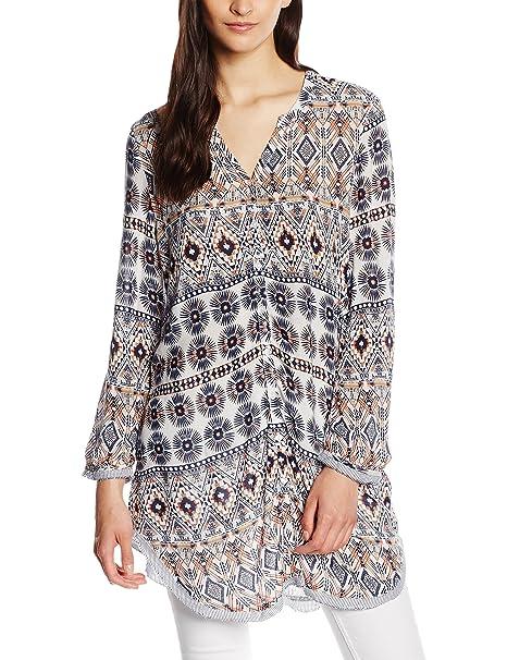 Vero Moda VMIVY 7/8 Tunic D2-4 - Blusa para Mujer, (