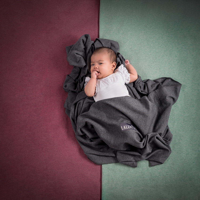Baby portabebés | | 100% de algodón bio | portabebés | portabebés para recién nacidos hasta 15 kg | de fabricación europeo | transpirable | sin Artificial ...
