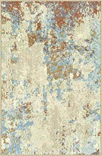 product image for Maples Rugs Southwestern Stone Distressed Abstract Kitchen Rugs Non Skid Accent Area Floor Mat [Made in USA], 2'6 x 3'10, Multi