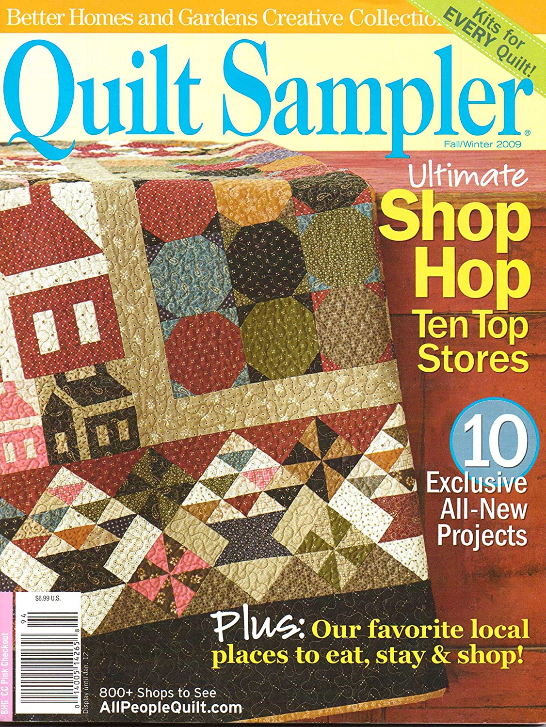 Amazon.com : Better Homes and Gardens Creative Collection: Quilt ...