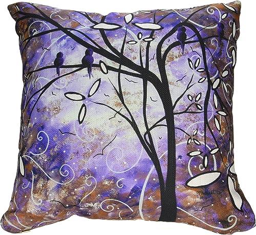 Deny Designs Madart Inc. Royalty Throw Pillow, 18 x 18