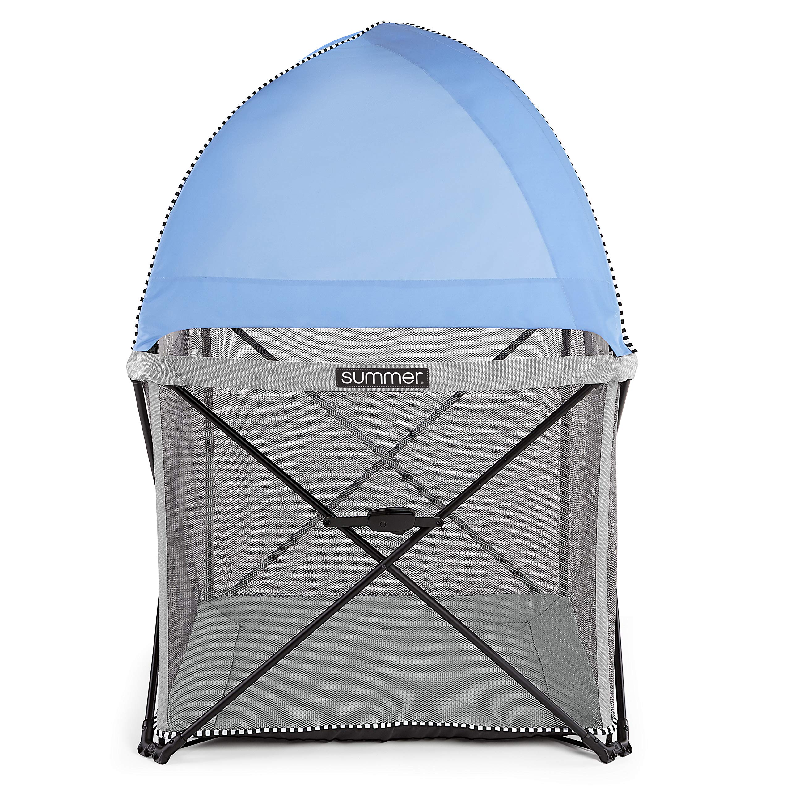 Summer Infant Pop 'n Play SE Cube Playard (Sweetlife Edition), Blue Raspberry, 4-Sided by Summer Infant (Image #5)