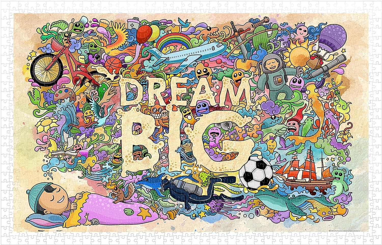 Pintoo 1000 Piece Plastic Puzzle H1671 Dream Big