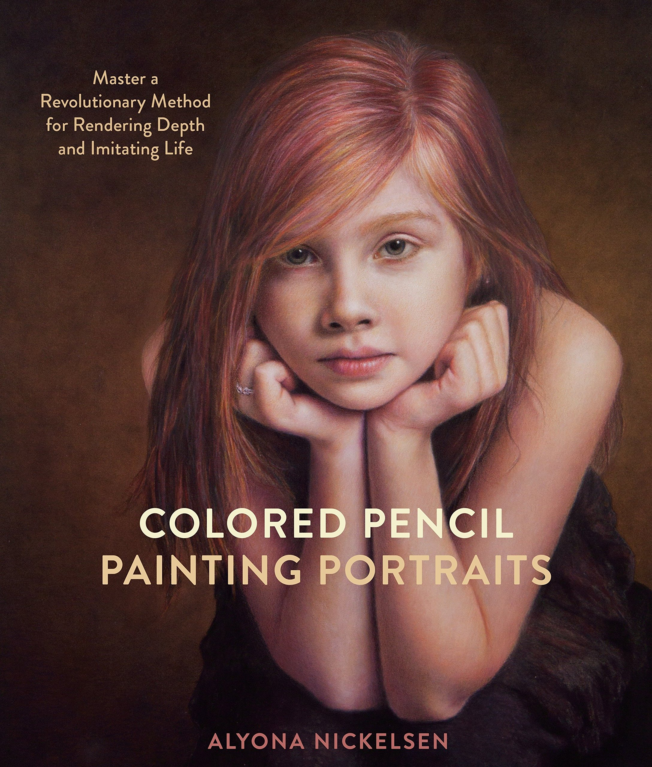 Colored pencil painting portraits master a revolutionary method for