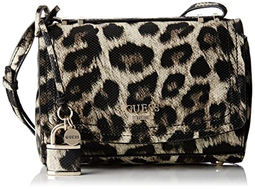 Hwlp6421780, Womens Top-Handle Bag, Multicolore (Leopard), 13x22.5x36 cm (W x H L) Guess
