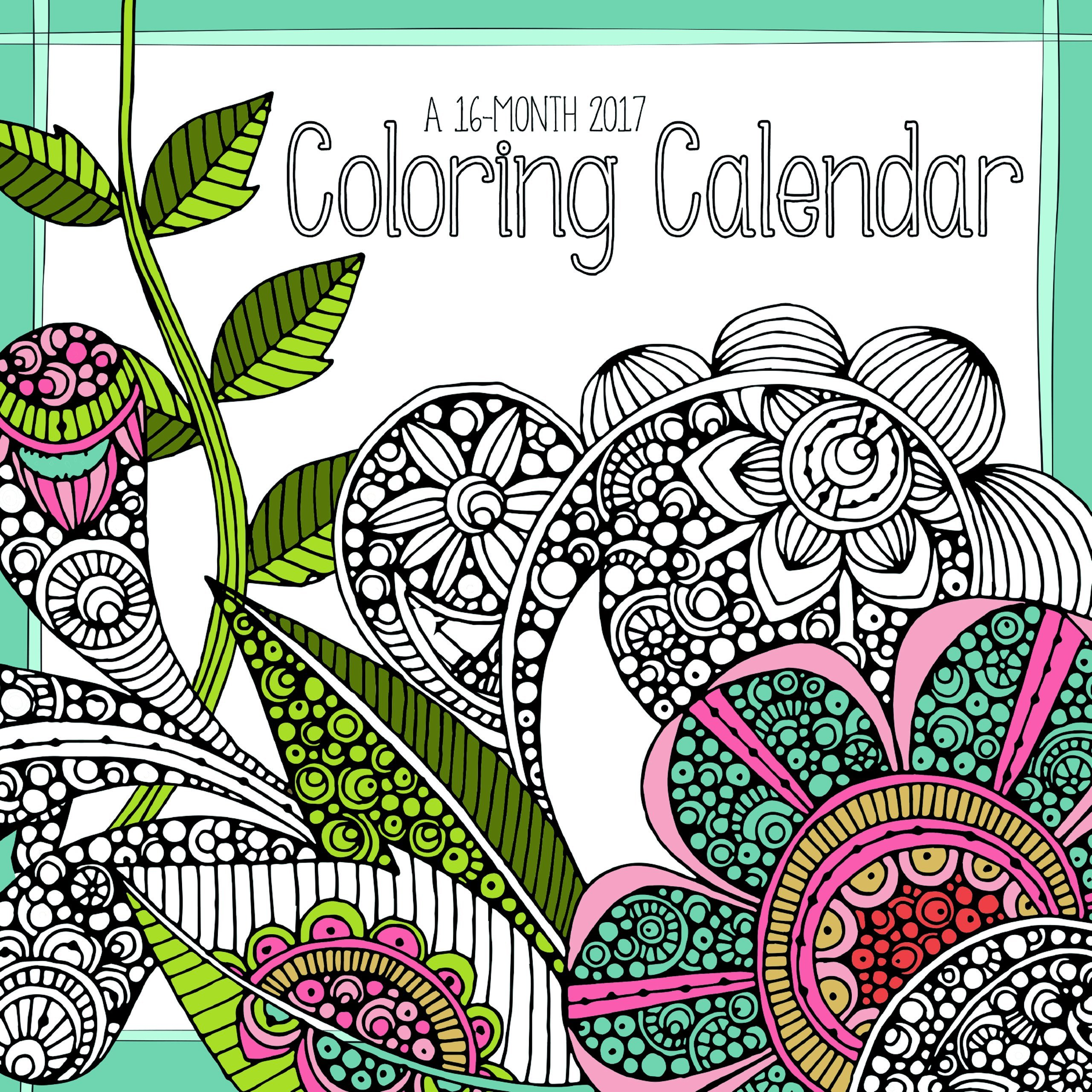Trends International 2017 Wall Calendar, September 2016 - December ...