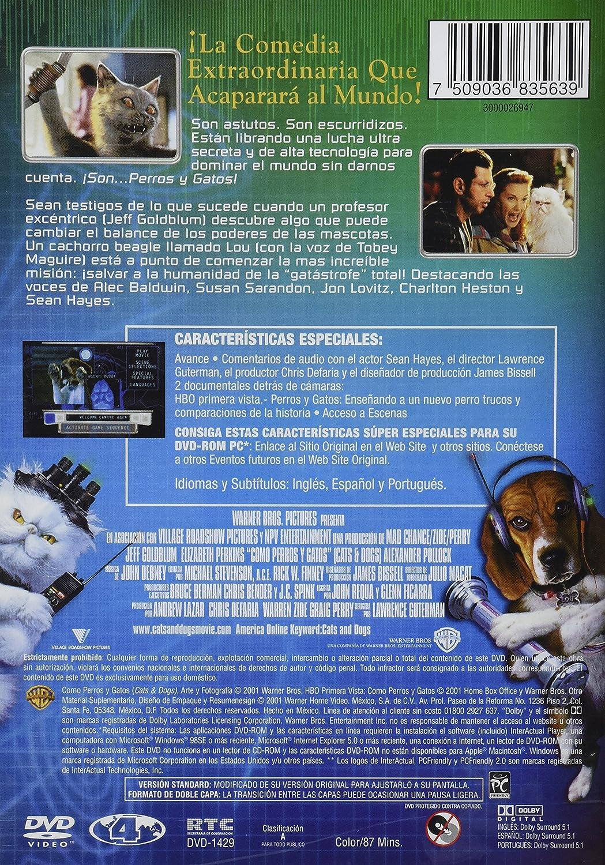 Como Perros Y Gatos [Alemania] [DVD]: Amazon.es: Movie/Film [English/Spanish]: Cine y Series TV