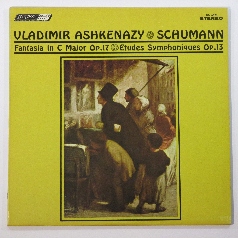 Schumann: Fantasia In C Major / Etudes Symphoniques / Vladimir Ashkenazy