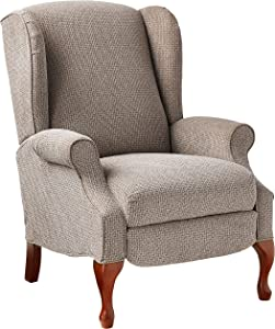 Lane Home Furnishings 6002-11 Glenrock Hi Leg Recliner, Mushroom