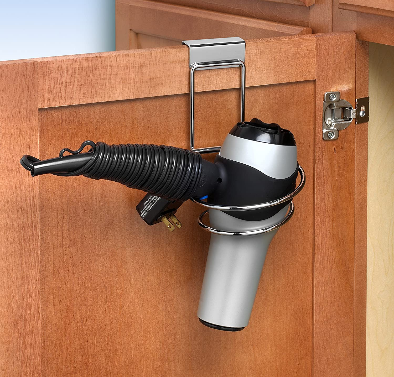Amazon.com: Spectrum MyBella Over The Cabinet Door Folding Dryer Holder,  Chrome: Home U0026 Kitchen