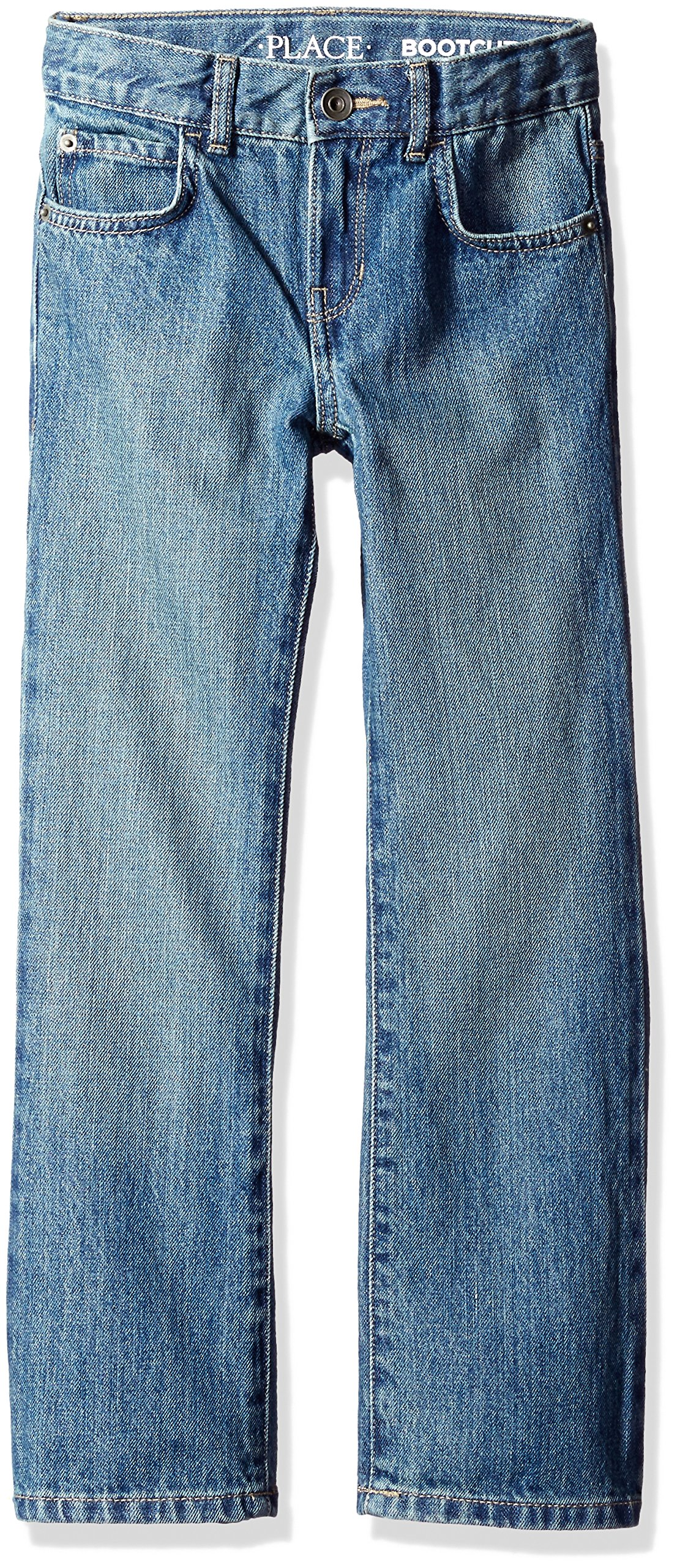 The Children's Place Boys Size Bootcut Jeans, River 5700, 10 Slim