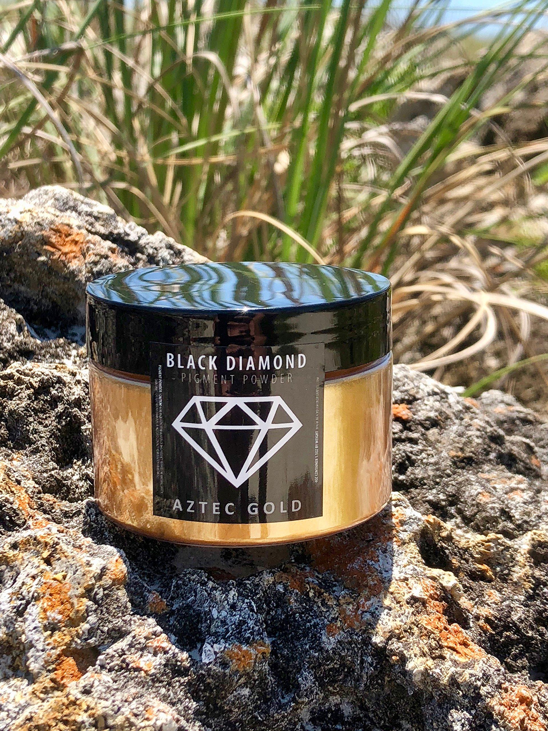 42g/1.5oz''Aztec Gold'' Mica Powder Pigment (Epoxy,Resin,Soap,Plastidip) Black Diamond PIGMENTS