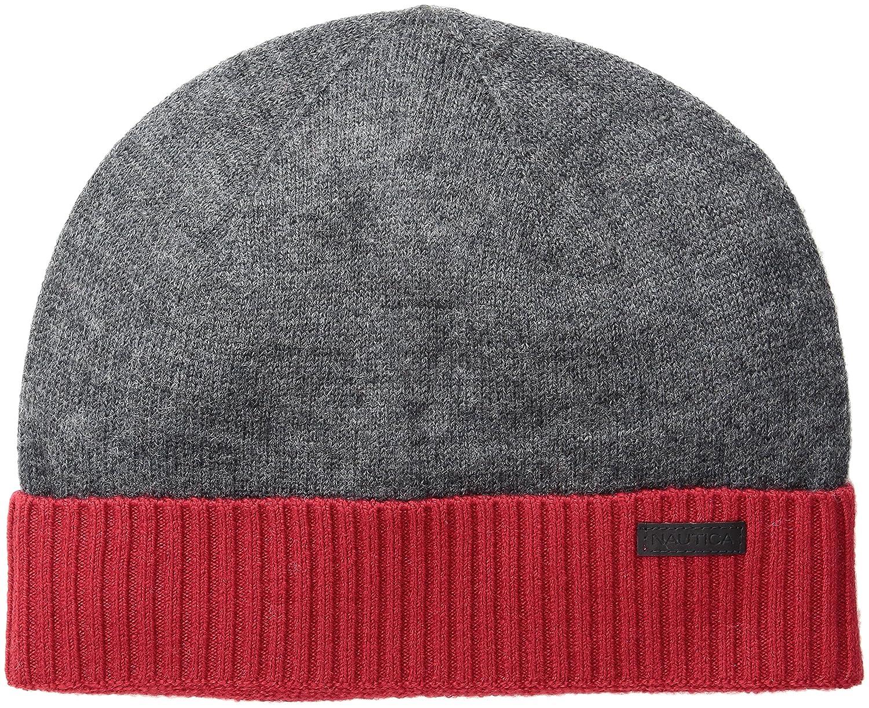 Nautica Men s Merino Wool Beanie Hat 0556464aaea