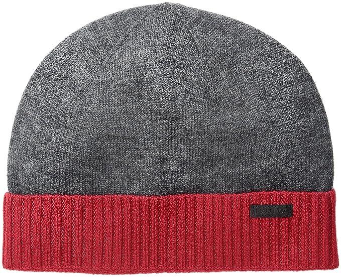 e1d44eae10f22 Nautica Men s Merino Wool Beanie Hat