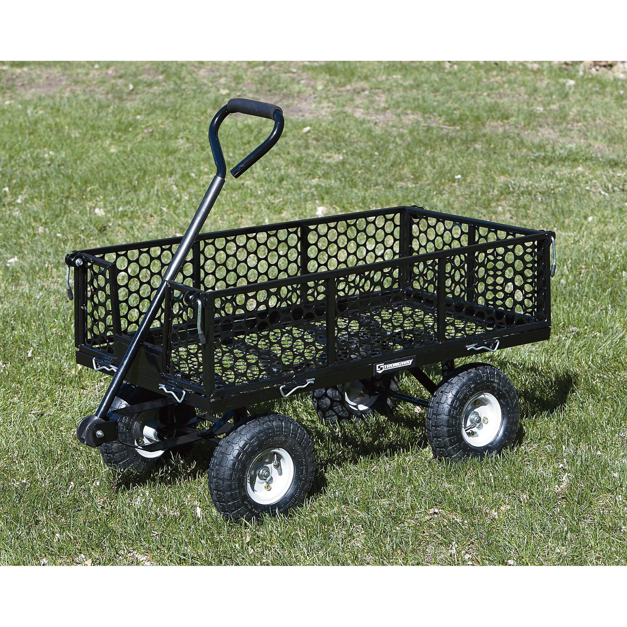 Strongway Steel Cart - 40in.L x 20in.W, 800-Lb. Capacity