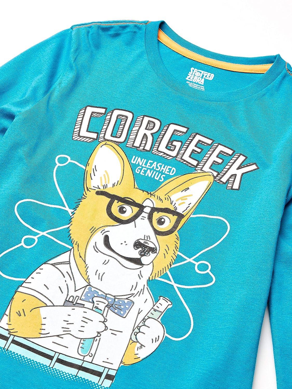 4-5 Spotted Zebra Corgeek X-Small per bambini maglietta a maniche lunghe confezione da 5 Marchio