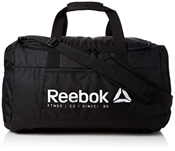 742fdfabb7 Reebok Foundation Large Grip Duffle Bag - Black