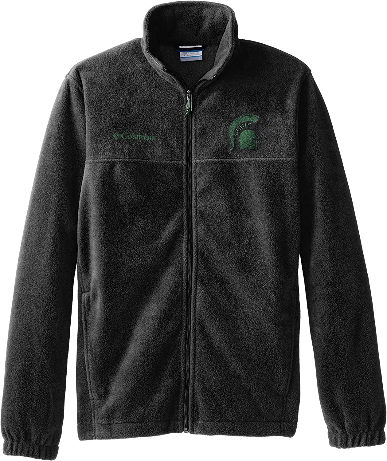 Michigan State Spartans 2 in 1 Vest /& Soft Shell Jacket Green NCAA Mens L