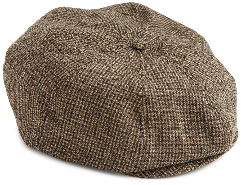 1884627642c Amazon.com  Brixton Men s Brood Newsboy Snap Hat  Clothing