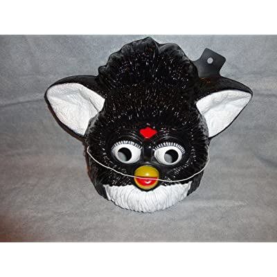 Black Furby PVC Mask Kid Size Rubies Halloween Dress Up: Everything Else