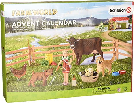 Model 97335 2016 Farm Life Advent Calendar Schleich