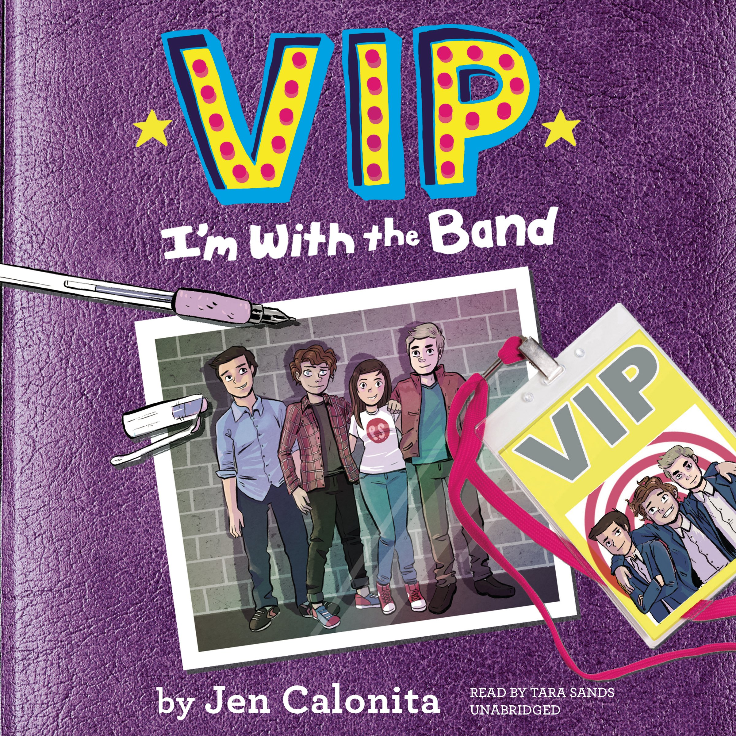 VIP: I'm With the Band  (VIP Series, Book 1)