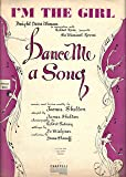 "Bob Fosse (Debut) ""DANCE ME A SONG"" James Shelton"