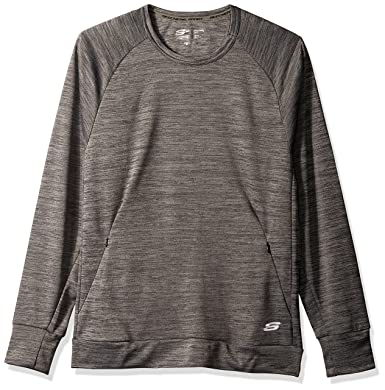 1257fa4467b0 Skechers Men s Space Dye Pullover at Amazon Men s Clothing store