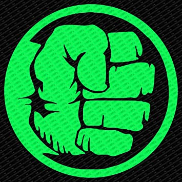 Amazon Incredible Hulk Fist Hand Die Cut Vinyl Decal Sticker