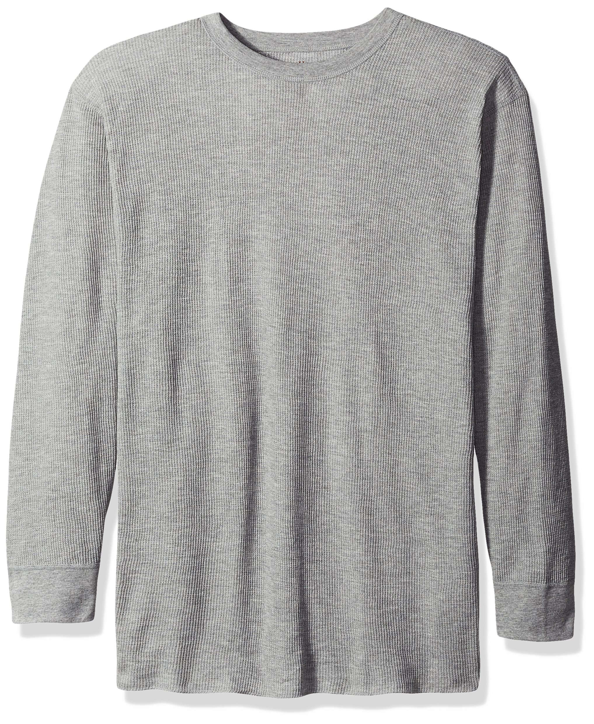 Hanes Tall Men's Big Red Label X-Temp Thermal Crew Top, Grey, 3X Large by Hanes