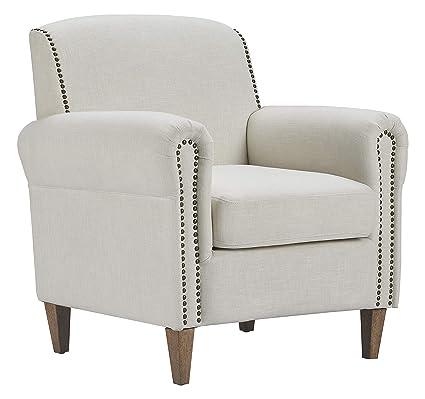 Remarkable Amazon Com Finch Uph20066A Elmhurst Accent Chair Ivory Uwap Interior Chair Design Uwaporg