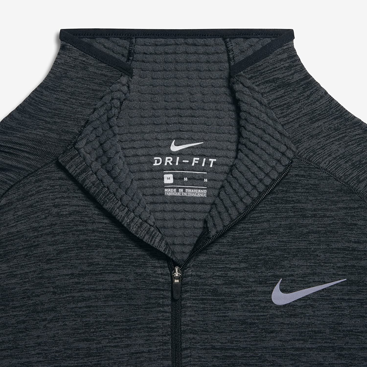 Amazon.com: Nike Sphere Element Men's Long Sleeve Running Top, Black/Heather /Anthracite, Large: Health & Personal Care