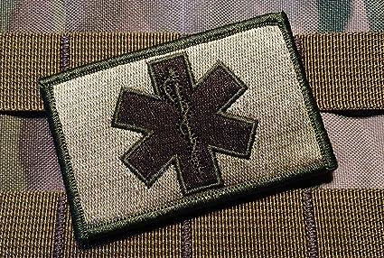 Amazon.com  Tactical Multicam EMT Paramedic 2x3 Inch hook loop ... 2bce87b5e06