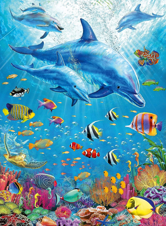 Dolphins XXL 100pc Jigsaw Puzzle