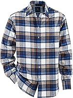 Herren Flanellhemd Baumwolle in wärmender Qualität Atmungsaktiv by BABISTA d762f43346