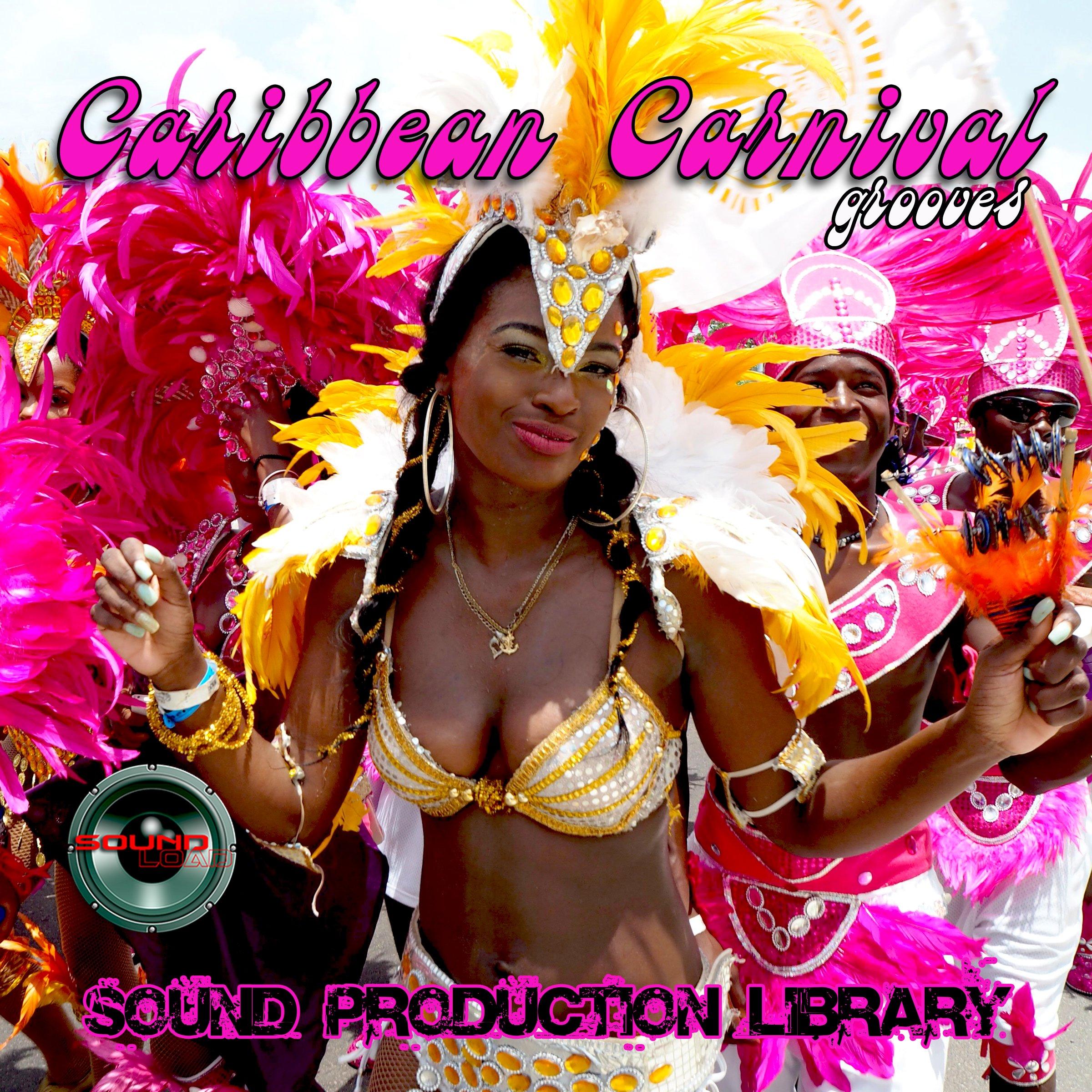 Caribbean Carnival Grooves - Large unique original WAVE/Kontakt Multi-Layer Samples Library on 2 DVD or download
