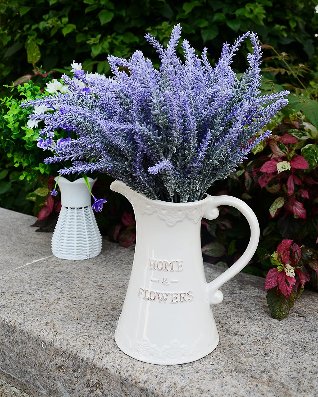 aplstar artificial flowers lavender bouquet in purple artificial plant for home decor wedding. Black Bedroom Furniture Sets. Home Design Ideas