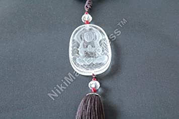 Amazon chinese imitation crystal mercy kwan yin guan yin chinese imitation crystal mercy kwan yin guan yin buddha lucky wealth health feng shui amulet altavistaventures Choice Image
