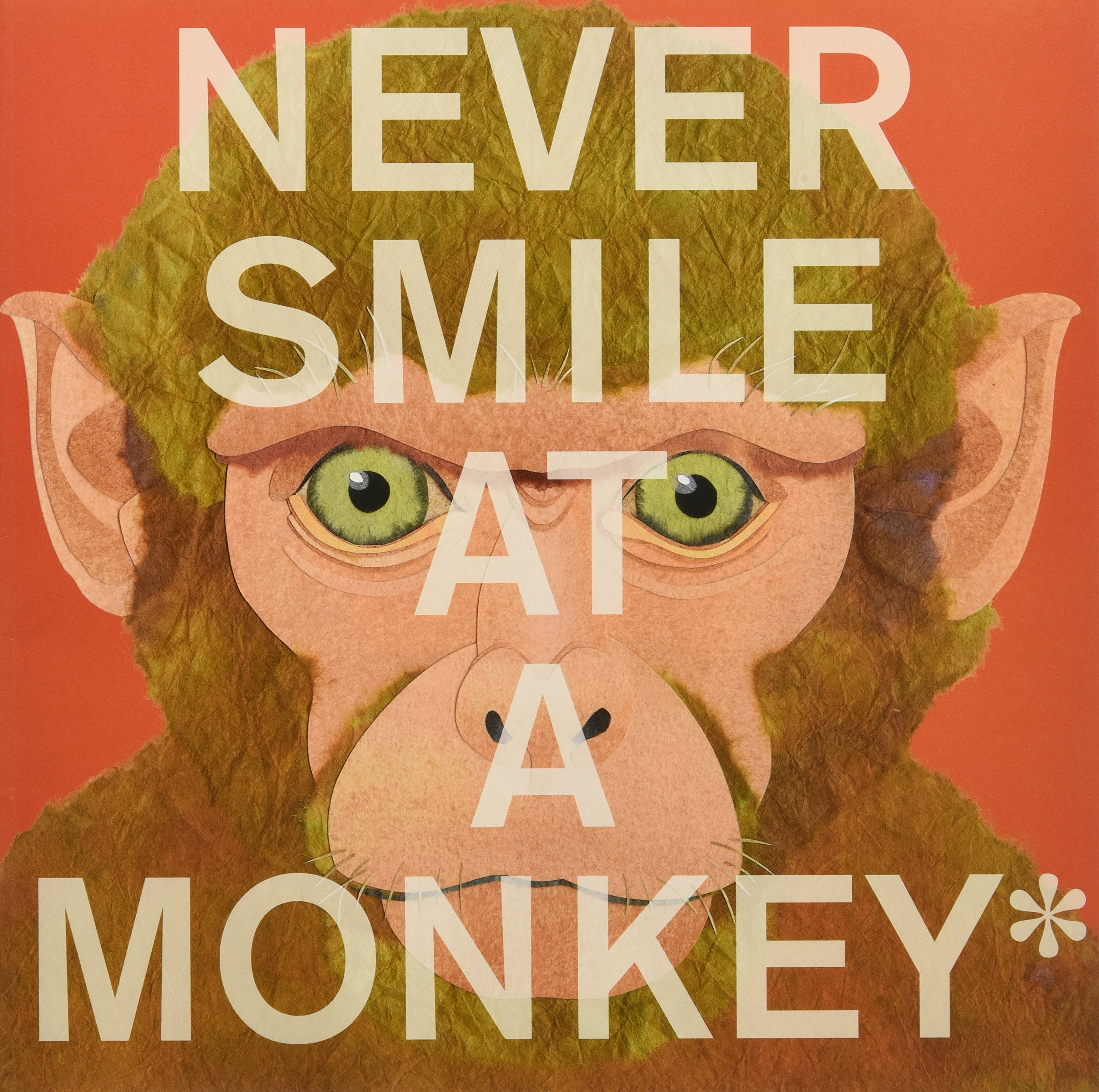 Image result for never smile at a monkey