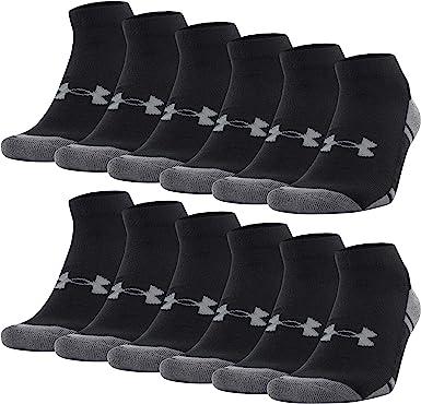 6-Pairs Under Armour Adult Resistor 3.0 Low Cut Socks