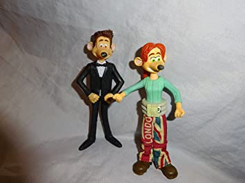 mcdonalds rita and roddy from flushed away amazon co uk toys games