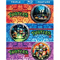 Teenage Mutant Ninja Turtles - Triple Feature (The Original Movie, The Secret of the Ooze, Turtles in Time)  [Blu-ray] [Importado]