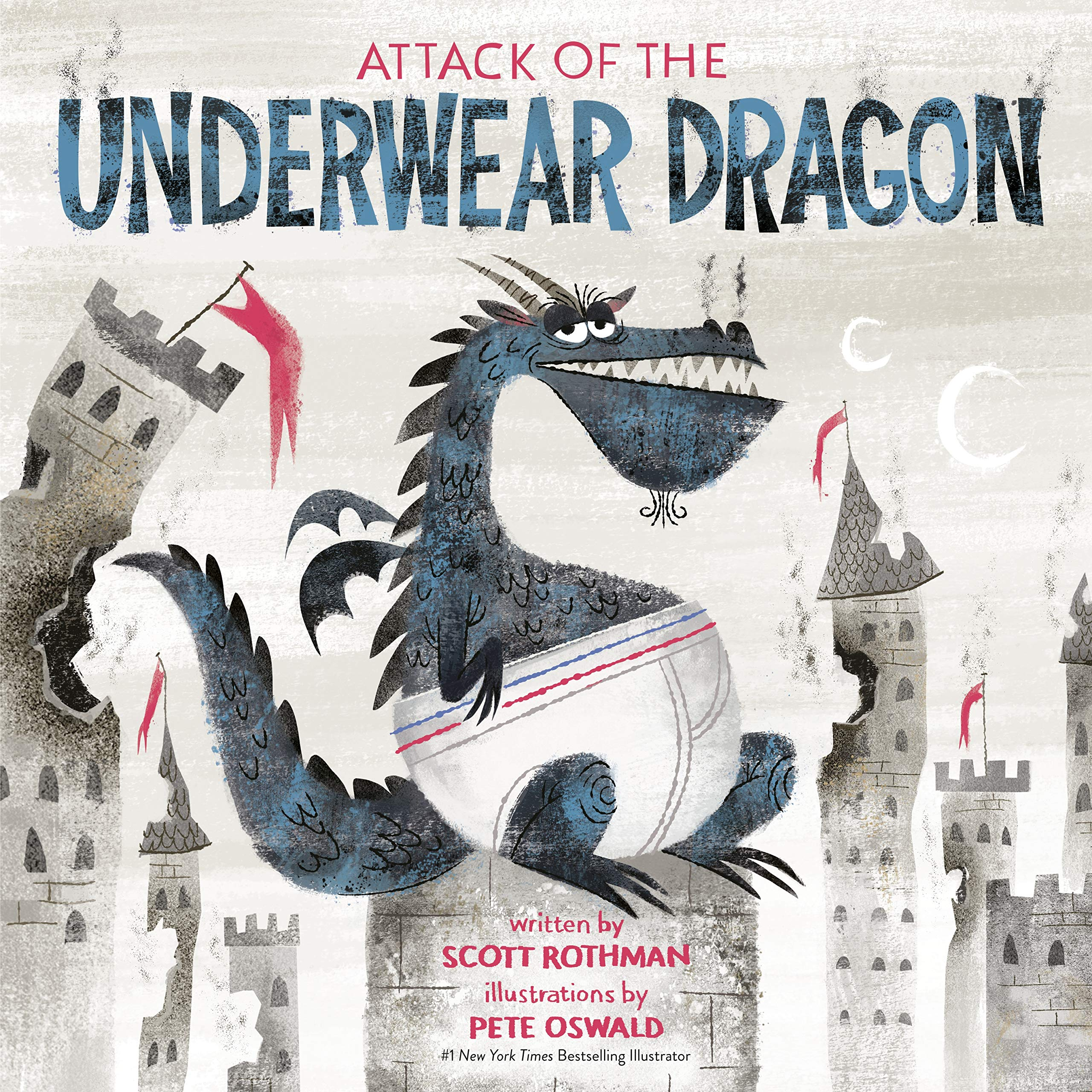 Book Cover of Attack of the Underwear Dragon