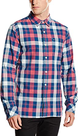 Tommy Hilfiger Arnold Shirt L/S Camisa para Hombre: Amazon.es ...
