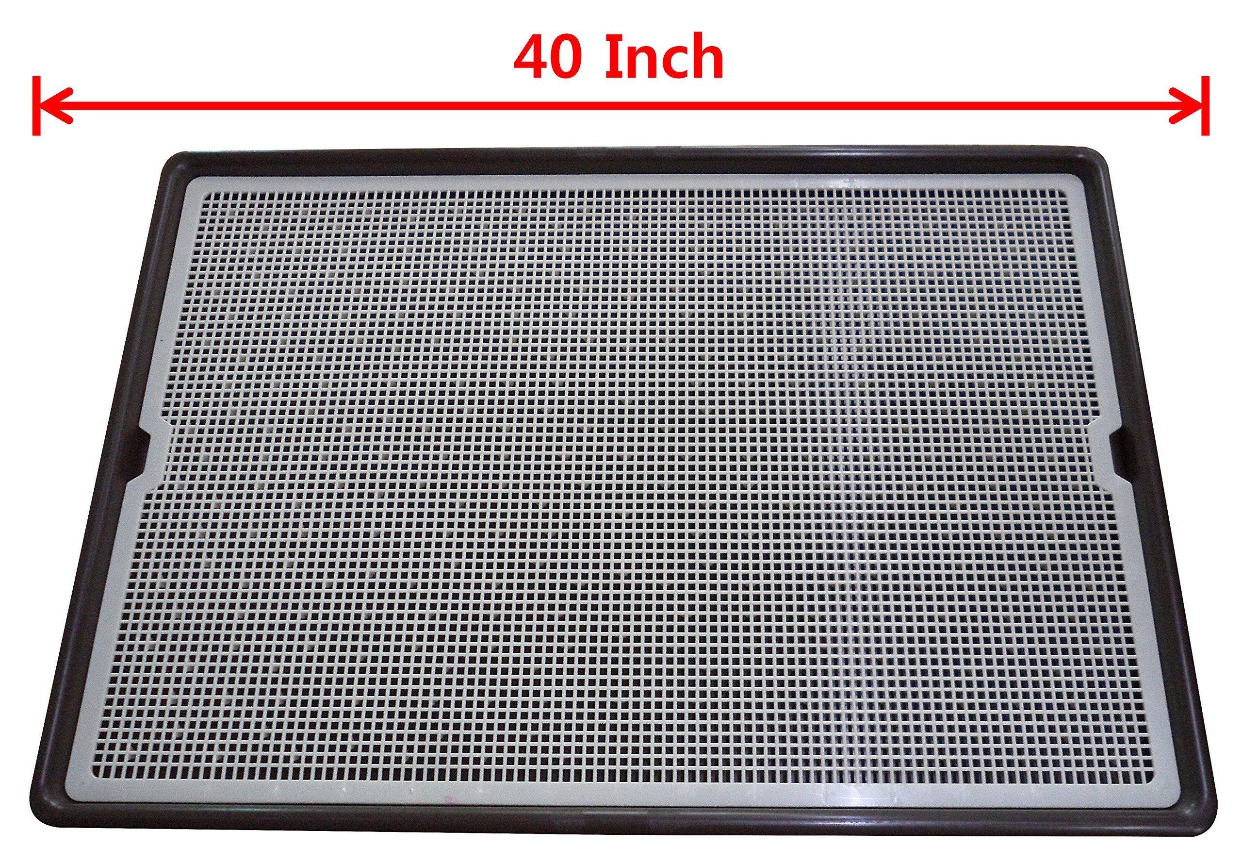 PET TIME GRAND DOG TOILET Pet Dog Cat mesh puppy indoor Potty Toilet Large Big Huge Clean Protect Floor toilet litter tray pan Training pad holder AMT-1100