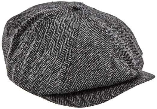 bf50a1ebd5b57 Dickies Men's Tucson Flat Cap, Black, One Size: Amazon.co.uk: Clothing