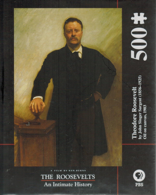 2019人気特価 Theodore Roosevelt by John Singer Singer Sargentジグソーパズル Theodore by B07F8GJ749, オオシマムラ:eba5a847 --- a0267596.xsph.ru